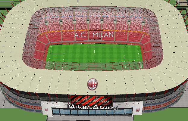 La vendita del milan non cambia i progetti per il nuovo stadio for Progetti per la vendita