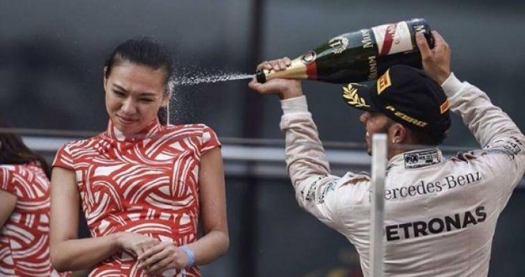 Lewis Hamilton perdonato per la doccia di Shanghai