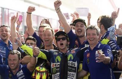 Motogp Argentina, fantastico, eccezionale, mitico Valentino Rossi