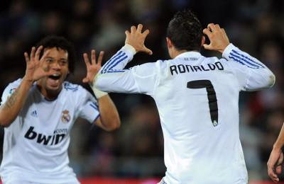 Cristiano Ronaldo, allenamento al bacio con...Marcelo!