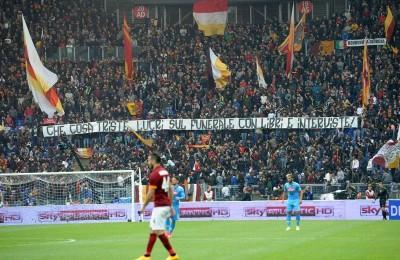 Roma, nervi test tra Pallotta e gli ultrà: uno striscione contro il presidente