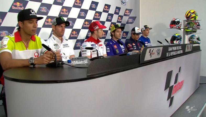 Valentino Rossi pronto alla battaglia con Marquez