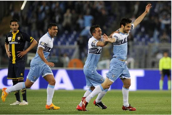 Il Parma crolla davanti alla Lazio e va in Serie B
