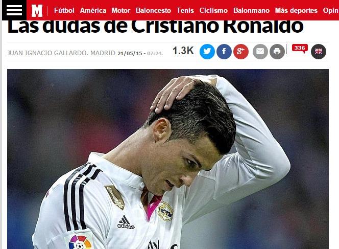 Real, i dubbi di Cristiano Ronaldo. Il Psg ci spera