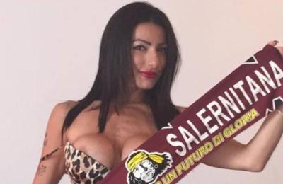 """Priscilla Salerno: """"Streap tease per la Salernitana, Lotito non vuole"""""""