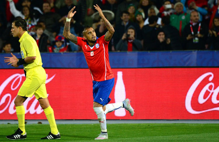 Vidal grande protagonista in Cile-Messico