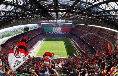 Boom abbonati negli stadi di Serie A grazie al Milan