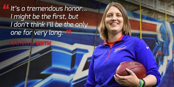 Buffalo Bills nomina la prima coach donna del football americano