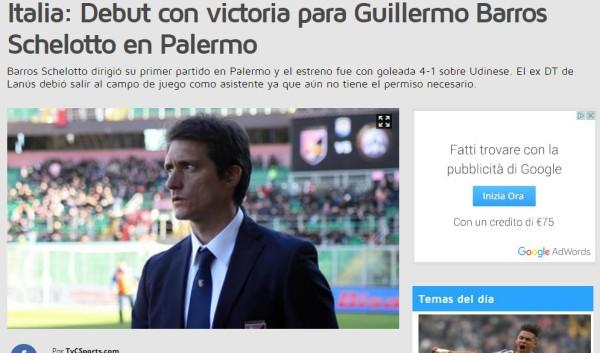 Schelotto Nuovo Allenatore del Palermo: Ufficiale