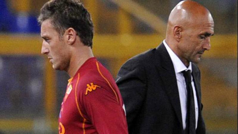 Totti cacciato da Spalletti lascia il ritiro della Roma