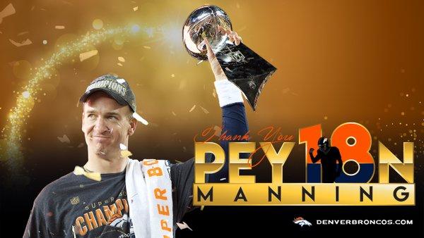 NFL, Peyton Manning si ritira e entra nella leggenda