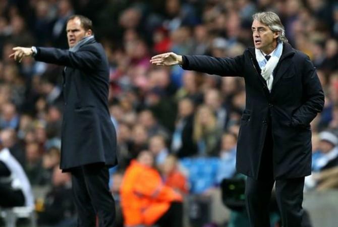 Mancini e Franck De Boer