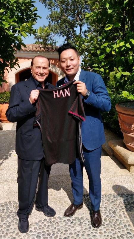 Berlusconi e gli investitori cinesi del Milan