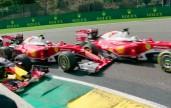 Ferrari scontro in Belgio