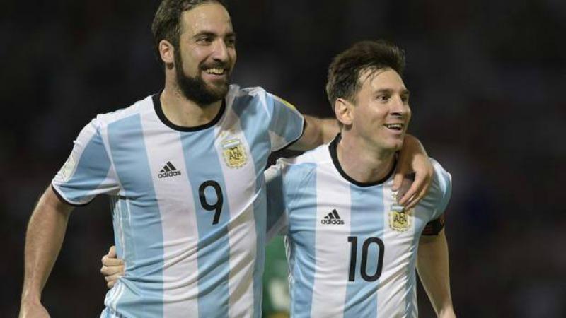 Messi e Higuain