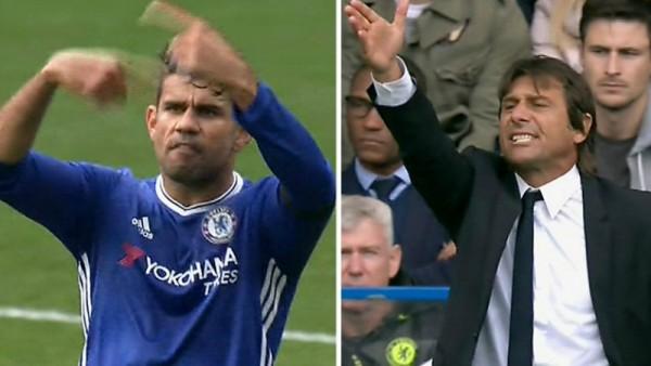Chelsea, Conte non convoca Diego Costa: lite tra il tecnico e l'attaccante?