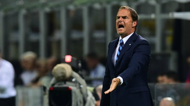 Frank De Boer tecnico dell'Inter