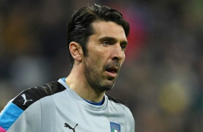 Che festa a Palermo per le mille partite in carriera di Gigi Buffon