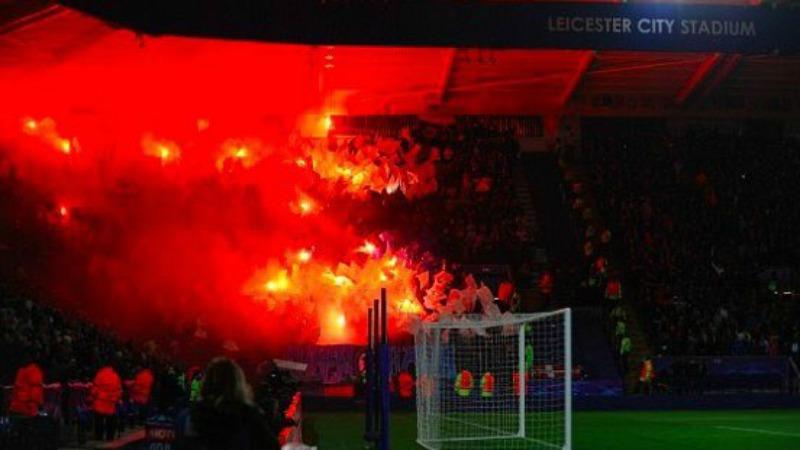 Lo stadio del Leicester