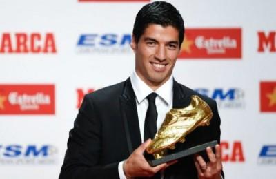 Luis Suarez scarpa d'oro
