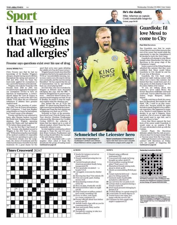 The Times su Messi