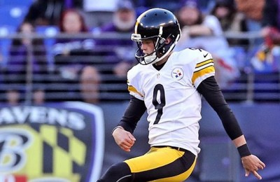 chris boswell dei pittisburg steeler prova rabona