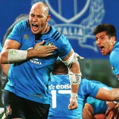 Parisse squalificato. Niente test con Tonga per il capitano dell'Italia del rugby