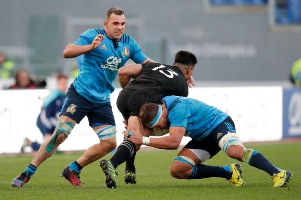 Simone Favaro capitano dell'Italrugby contro Tonga per la squalifica di Parisse