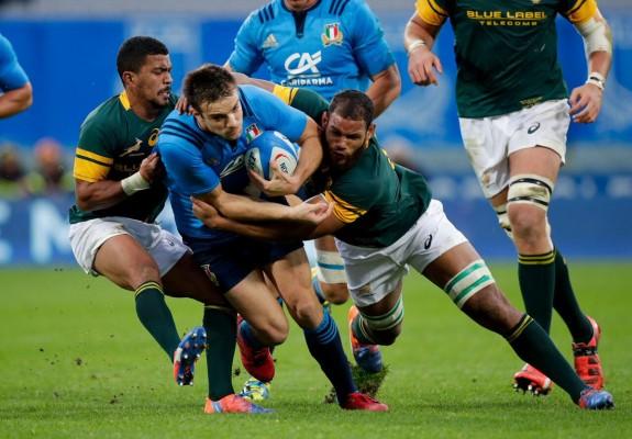 Contro Tonga O' Shea conferma l'Italia che ha battuto il Sud Africa