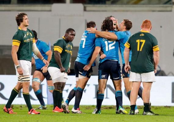 Italia del rugby nella storia! Battuto il Sud Africa