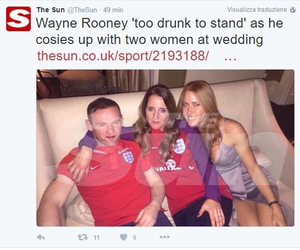 rooney ubriaco