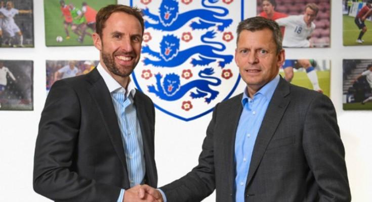 Gareth Southgate nuovo c.t. dell'Inghilterra