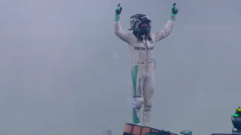 Nico Rosberg campione del mondo