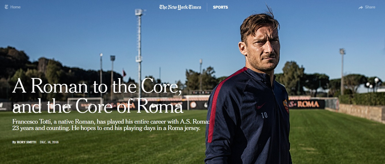 totti new york times