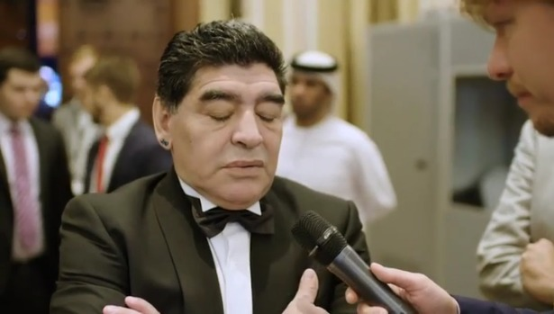 """Siluro di Maradona a De Laurentiis """"Venderebbe anche la ..."""