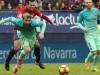 Leo Messi non fa scena contro l'Osasuna