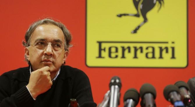 Sergio Marchionne minaccia: Con nuove regole la Ferrari può lasciare la Formula Uno