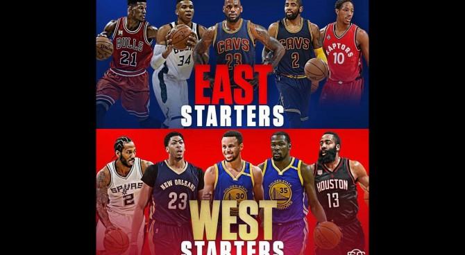 NBA All-Star Game, cambia il formato: due capitani sceglieranno i giocatori