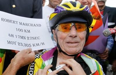 Ciclismo, Robert Marchand colpisce ancora: record dell'ora a 105 anni!