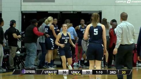 Mega rissa nel basket femminile Usa: otto espulse tra Utah State Università del Nevada