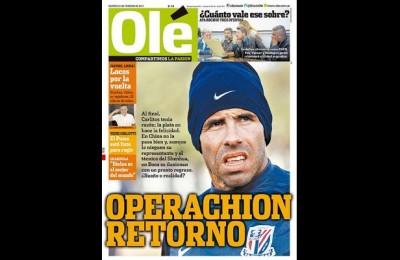 Incredibile Carlos Tevez: lascia la Cina e torna al Boca Juniors?