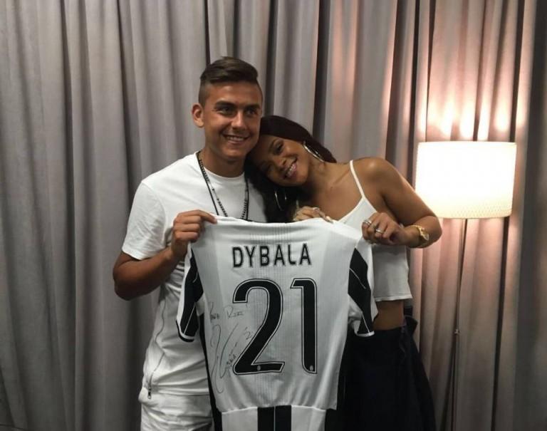 Dybala e Rihanna
