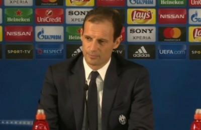 """Allegri: """"Bonucci andrà in tribuna con il Porto"""" ma il tecnico si multa per la sua reazione"""