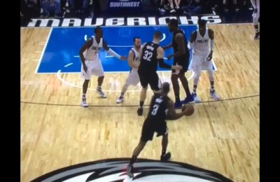 Il piccolo Barea dei Mavericks stende il gigante Griffin dei Clippers e esce tra gli applausi