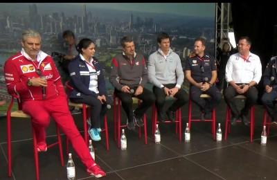 """Ferrari, Arrivabene descrive Vettel e Raikkonen tra le risate: """"Uno parla, l'altro no"""""""