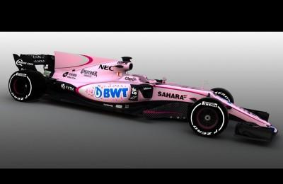 """La Force India presenta la livrea rosanero: """"Palermo ti piace?"""". Il club: """"Complimenti"""""""