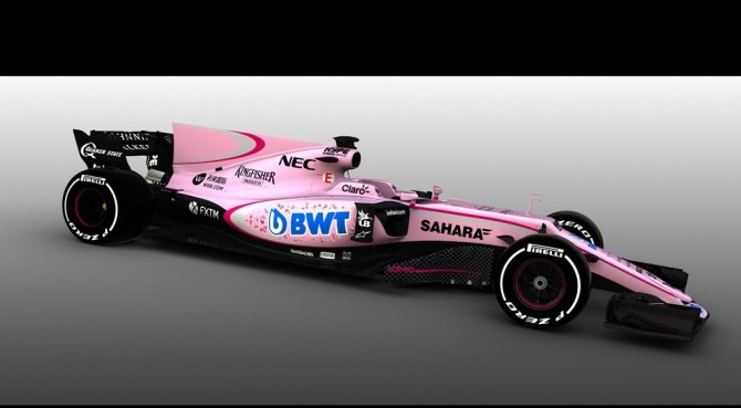 Force India sconcertante: benvenuto alla BWT con la livrea rosa!