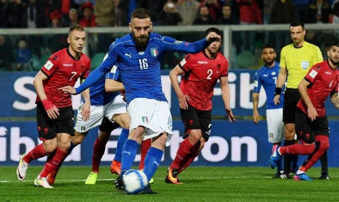 L'Italia sul velluto, De Rossi e Immobile archiviano la pratica Albania