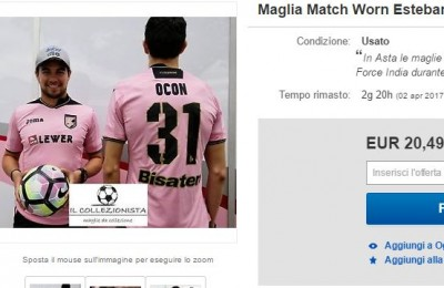 La Force India mette all�asta su eBay le magliette del Palermo?