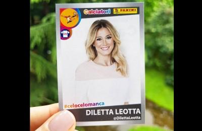 Diletta Leotta, dalle foto hackerate a immagine di una figurina Panini